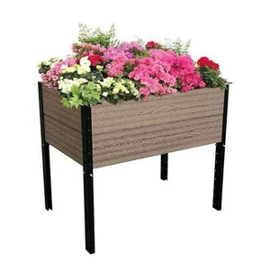 Farmhouse 38in x 26in x 33 in Elevated Planter Raised Garden Bed - Annelisse's