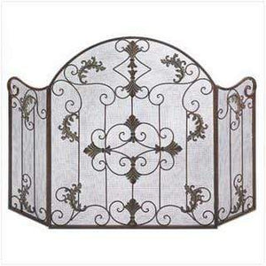 Florentine Fireplace Screen - Annelisse's