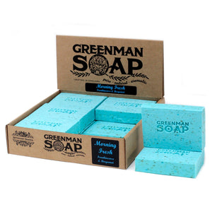 Greenman Soap 100g - Morning Fresh - Annelisse's