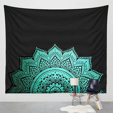 Load image into Gallery viewer, Hippie Tapestry Printed Lotus(Bohemian) - Annelisse's