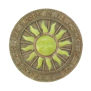 Solar powered Bursting Sun stepping stone - Annelisse's
