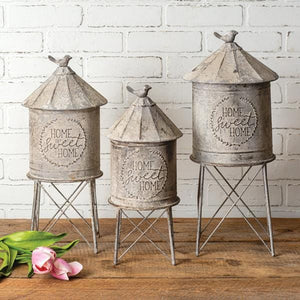 Tabletop silo set of 3 - Annelisse's