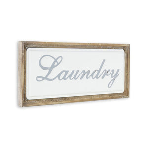 Laundry wall sign - Annelisse's