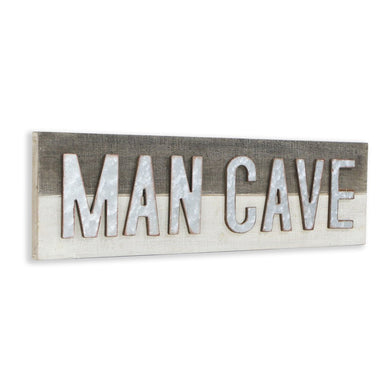 Man cave metal wall sign - Annelisse's