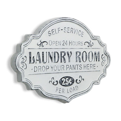 Self service laundry room sign - Annelisse's