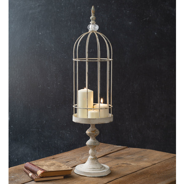 Tall Wire Cloche with Stand, available 3/17/21--preorder - Annelisse's