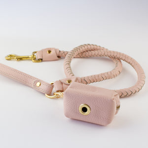 Pink leather dog accessories Willow Walks