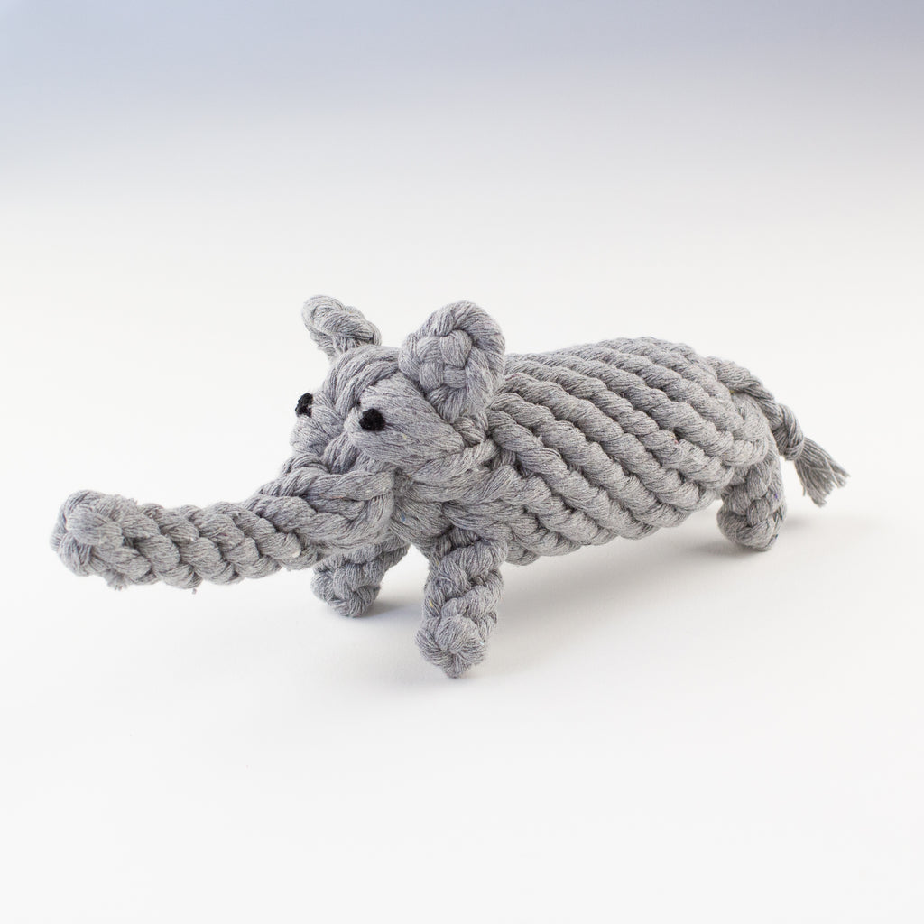 Dog toy elephant Willow Walks