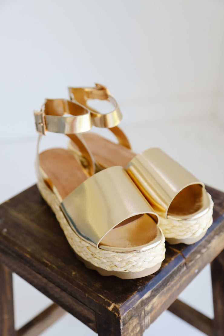 ABUNDANCE-02 GOLD - FYShoes