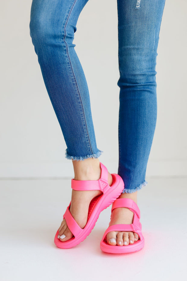BASS-01 HOT NEON PINK - FYShoes