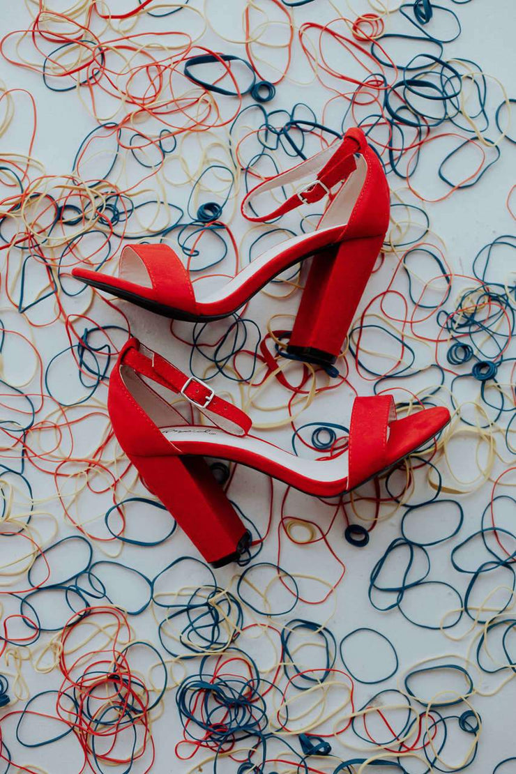 CASHMERE-01 RED - FYShoes