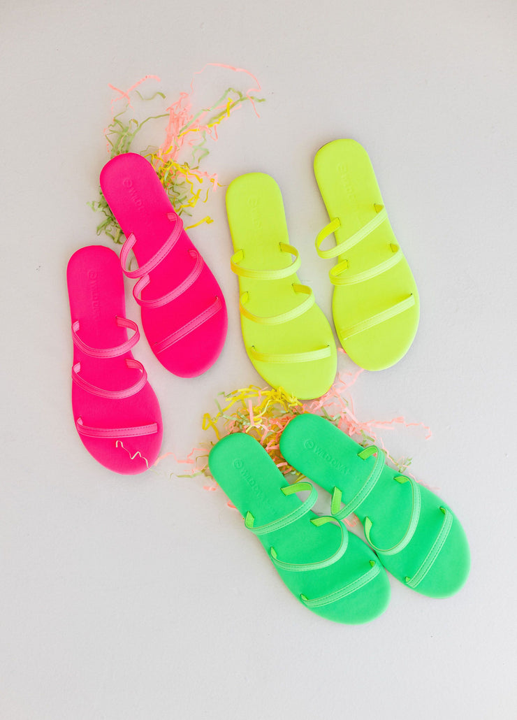 CLOVER-281 GREEN NEON - FYShoes