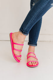 CLOVER-281 PINK NEON - FYShoes