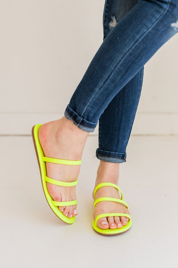 CLOVER-281 YELLOW - FYShoes