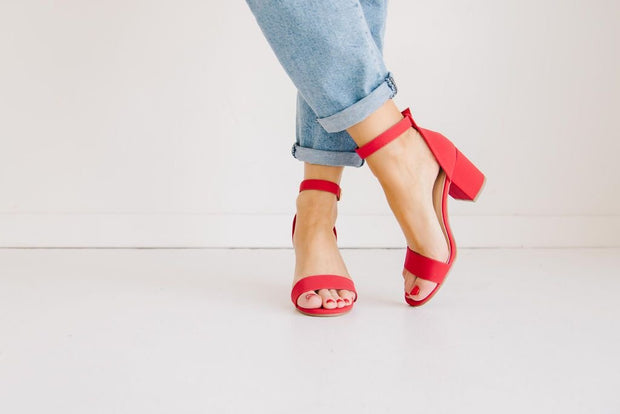 DELIA-1 RED - FYShoes