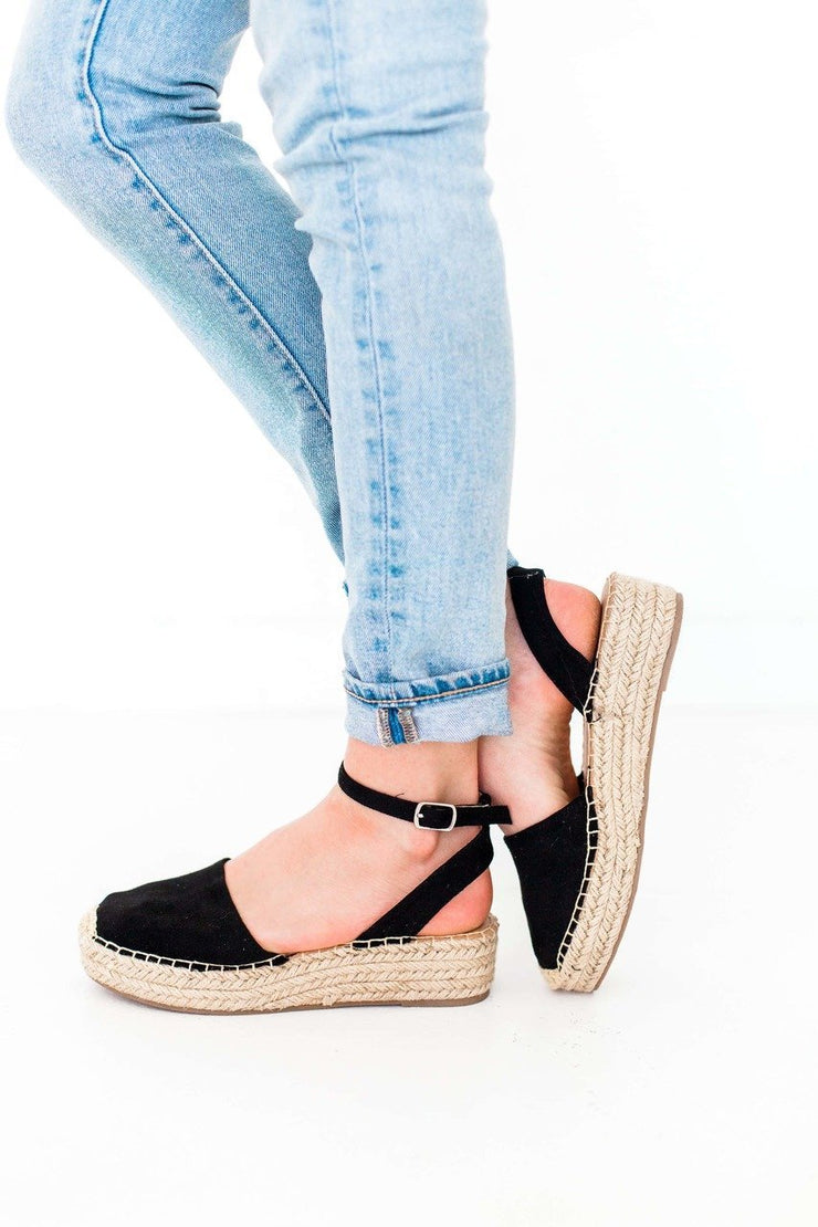 FIESTA BLACK - FYShoes
