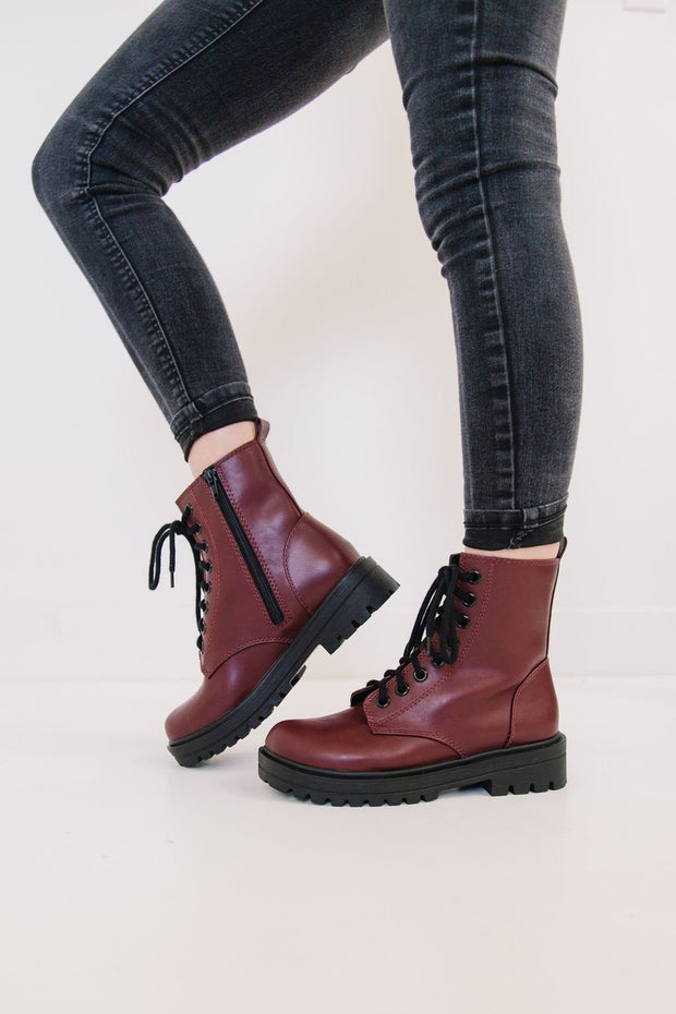 FIRM BURGUNDY - FYShoes