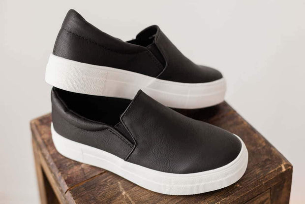 HIKE BLACK PU - FYShoes