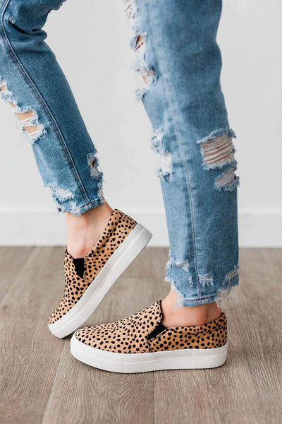 HIKE CHEETAH LEOPARD SUEDE - FYShoes