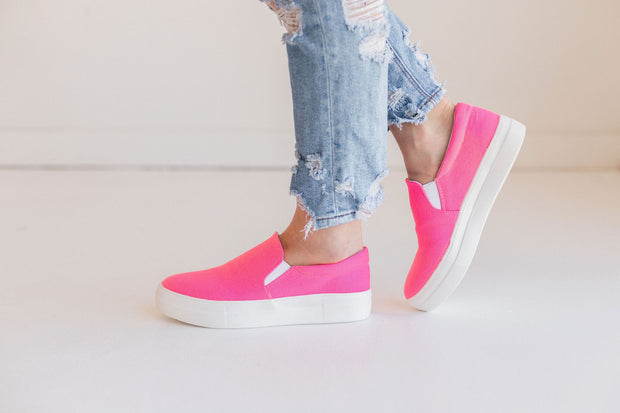 HIKE PINK NEON - FYShoes