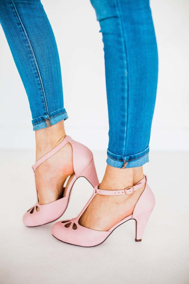 KIMMY-36 ROSE PINK - FYShoes