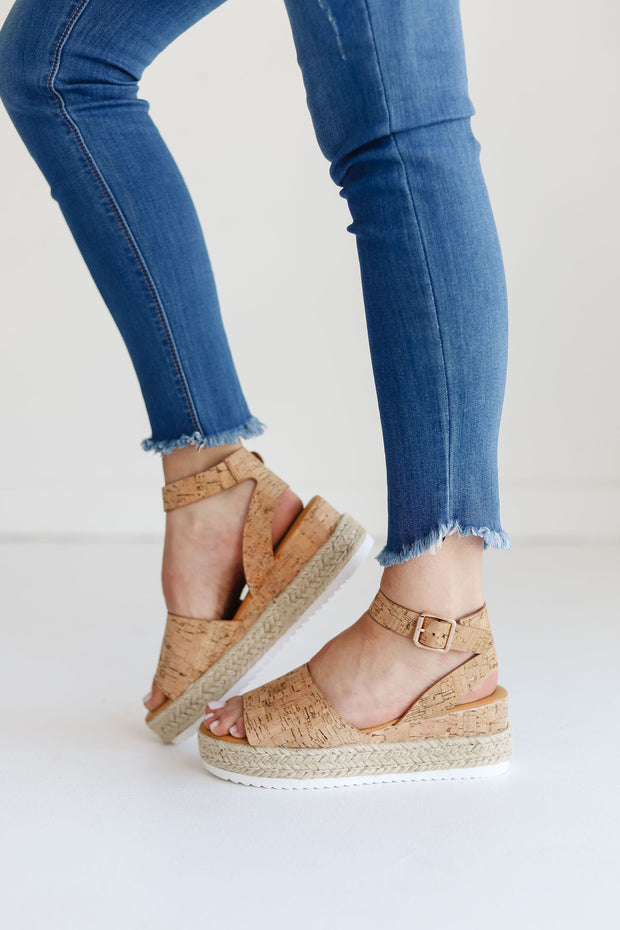 LEADING-01 NATURAL CORK - FYShoes