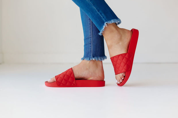 LINDY-11 BRIGHT RED - FYShoes