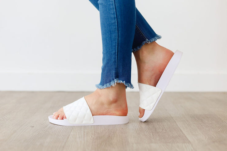LINDY-11 WHITE - FYShoes