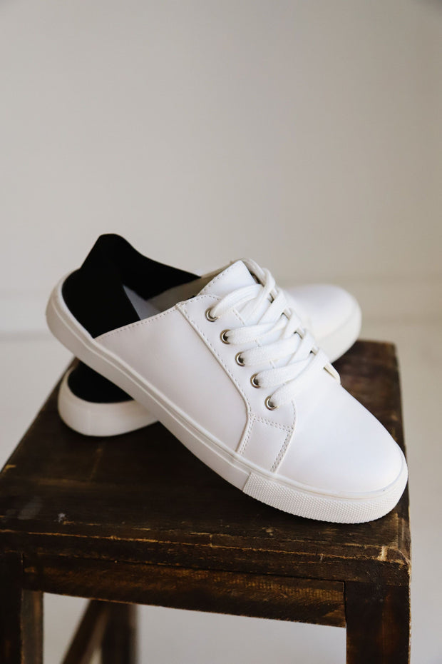 LOUISA-01S WHITE-BLACK - FYShoes