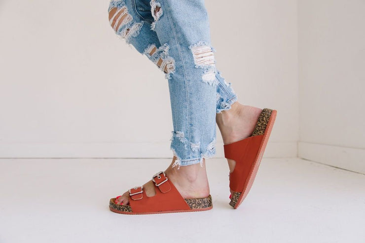 LUKA-06 BRICK RED - FYShoes