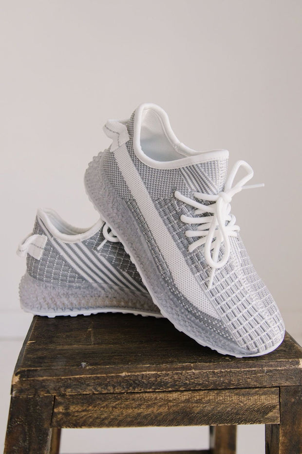 MAGDA-01 GREY WHITE - FYShoes