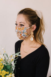 MASK - FLORAL PINECONE - FYShoes