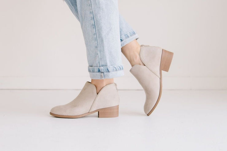 MAYBE CLAY TAUPE - FYShoes