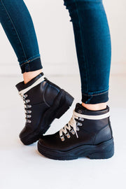MICHAELA-01 BLACK - FYShoes
