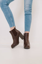 MICHI-72 BROWN - FYShoes