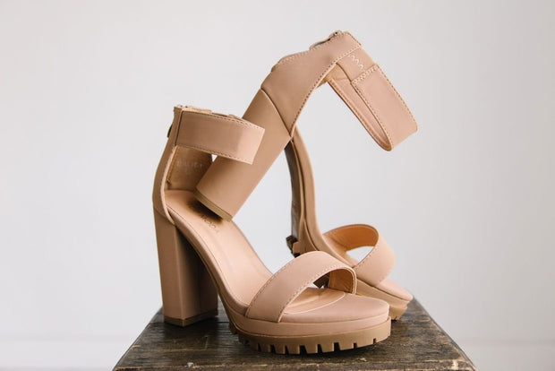 MILLIE-1 NUDE TAN - FYShoes