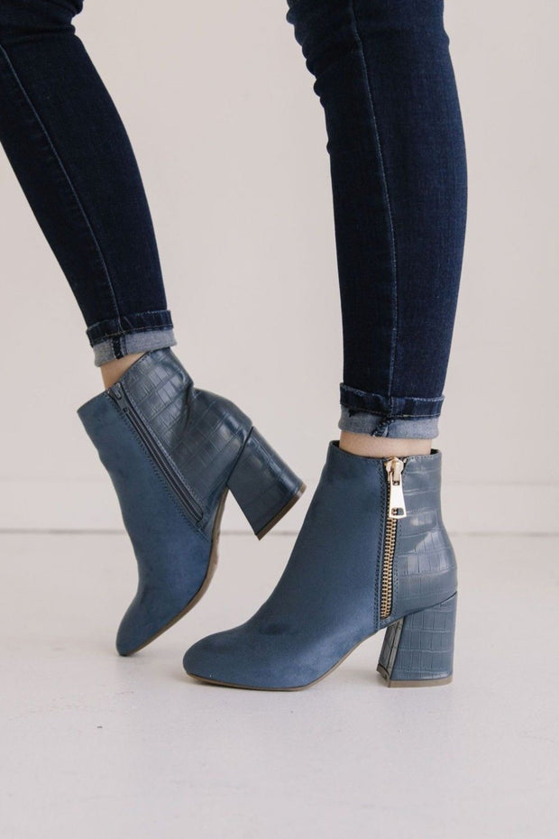 MOODY-03 BLUE - FYShoes