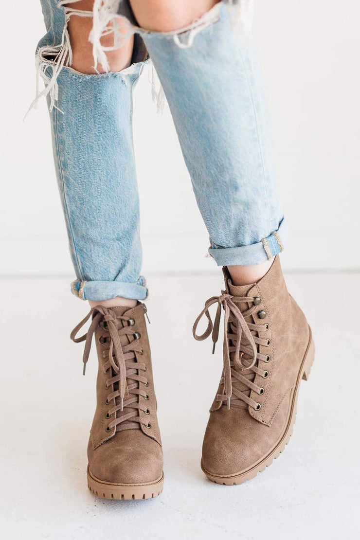 PEACE TAUPE - FYShoes