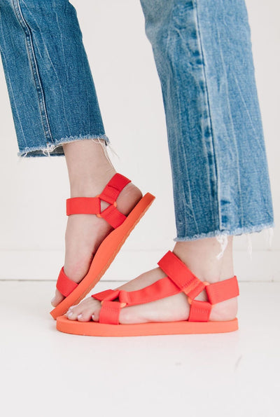 PIA ORANGE RED - FYShoes