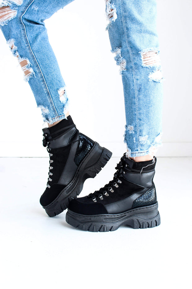 POPS-13 BLACK MULTI - FYShoes