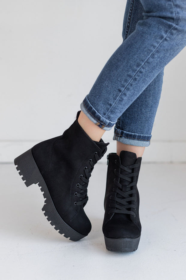 POWERFUL-27 BLACK - FYShoes