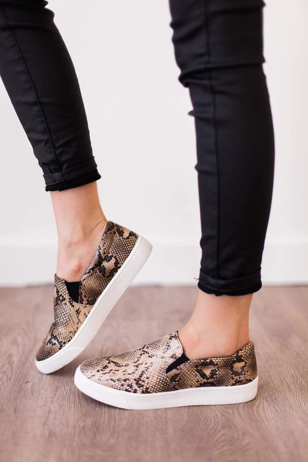 REIGN PYTHON NATURAL - FYShoes
