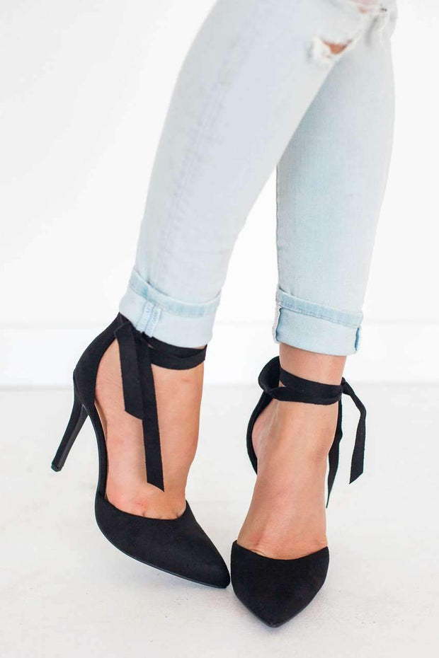 ROUNDUP BLACK - FYShoes