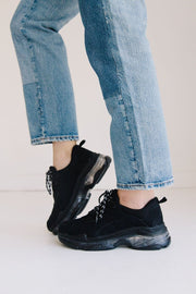ROWE-01 BLACK MESH - FYShoes