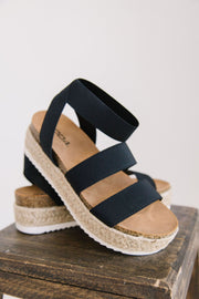 SPRING BLACK - FYShoes