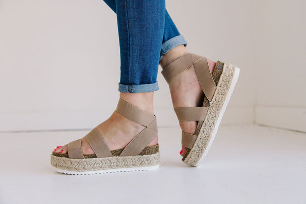 SPRING TAUPE - FYShoes