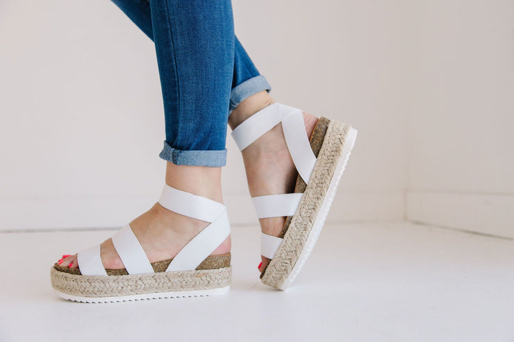 SPRING WHITE - FYShoes