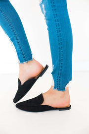 SWIRL-135 BLACK - FYShoes