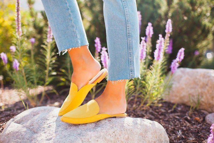 SWIRL-135 YELLOW - FYShoes