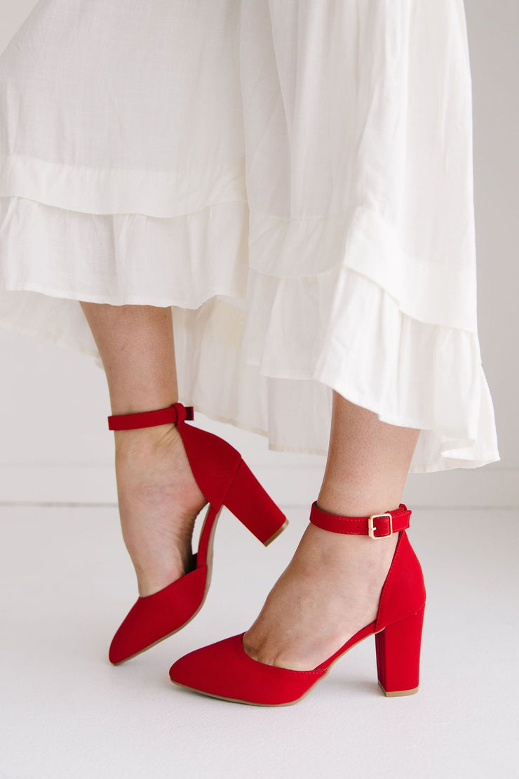TATE-1 LIPSTICK RED - FYShoes